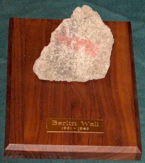 Large Display Size Pieces of Berlin Wall for Sale